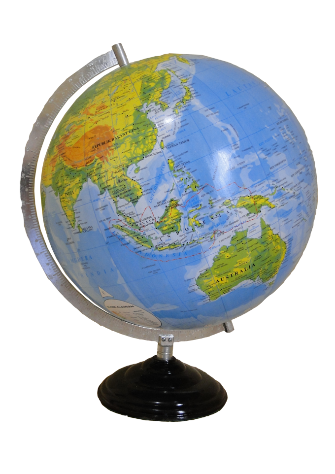 globe tatakan besi alat praga