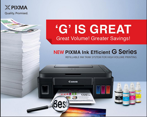 printer g series terbaru canon