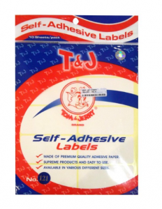 Label Shelf Adhesive Tom & Jerry No. 121 (38 x 75 mm)