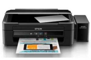 Epson Printer L360 All In One (Print, Scan, Copy) Non Tinta - Hitam