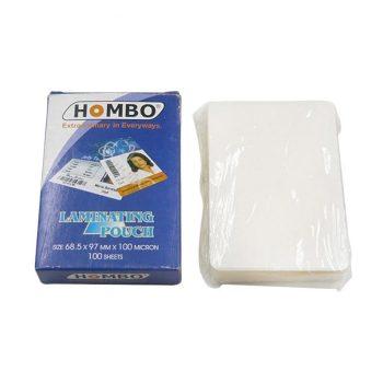 Laminating Film Hombo 100Micron Plastik Laminating KTP