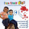 Face Shield Anak Anak Sekolah Karakter   Face Shiled Kids