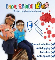 Face Shield Anak Anak Sekolah Karakter | Face Shiled Kids