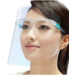 Face Shield Faceshield Pelindung Wajah Model Kacamata Dewasa & Anak