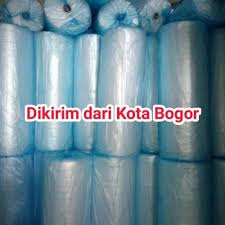 Grosir Bubble Wrap / Plastik Gelembung Bogor 50mtr x 1.25mtr | Jual Plastik Bubble Wrap Murah Putih Hitam